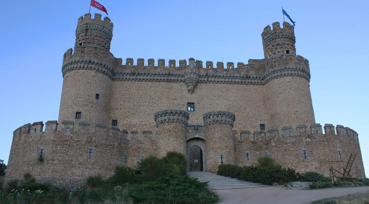 La Foto Viajera de la semana: Castillo de Manzanares el Real, Madrid