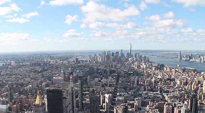 Mordisco a la Gran Manzana. New York en siete días. O cómo intentar verlo todo.