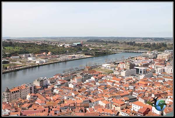Vistas del Río Monego en Coimbra