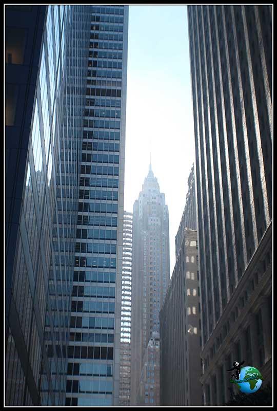 Cualquier rincón es bueno para fotografiar al Empire State Building