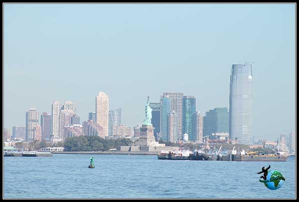 Distrito Finaciero desde el Ferry