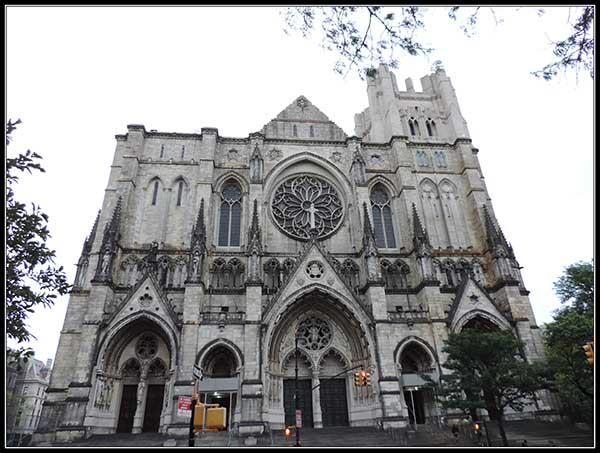 Catedral de St John the Divine en New York
