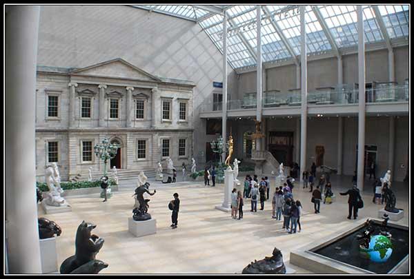 Una sala en el Metropolitan Museum de New York