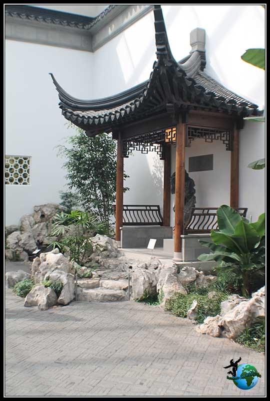 Jardín japonés en el Museo Metropolitano de New York