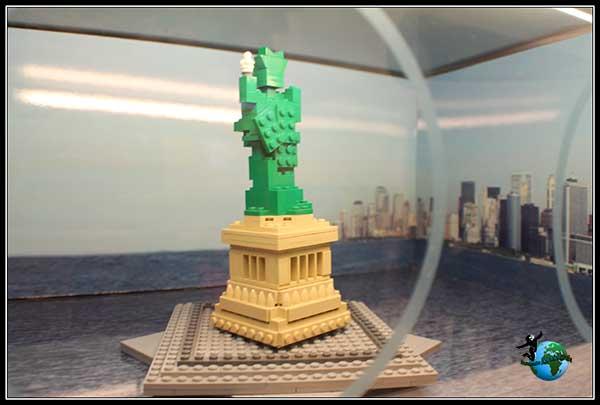 Estatua de la Libertad en Lego Store de New York