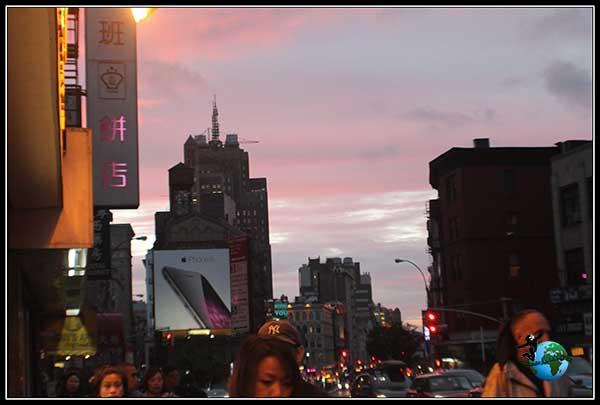 Entre Chinatown y Little Italy en NY.