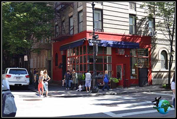 Grabación de un spot de Nike en New York.