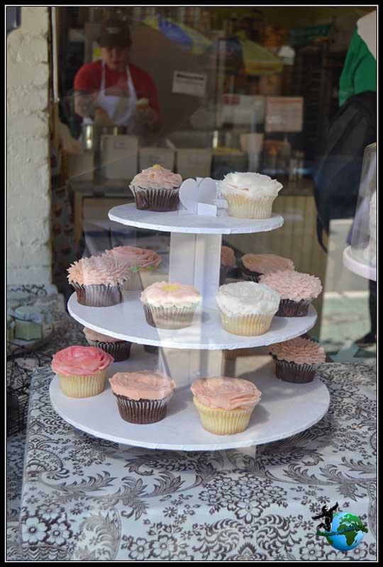 Cup Cake'es en The Magnolia Bakery en New York.