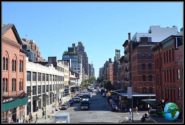 7ª Avenida, no tan concurrida como su hermana la 5 TH Avenue, pero es muy agradable pasear por ella en Nueva York.