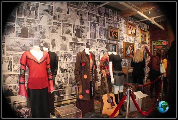 Vestuario original de Friends, en New York.