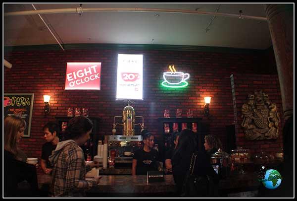 Cafetería de Central Perk en New York.