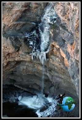 Qué ver en Pelegrina. Cascada del Gollorio