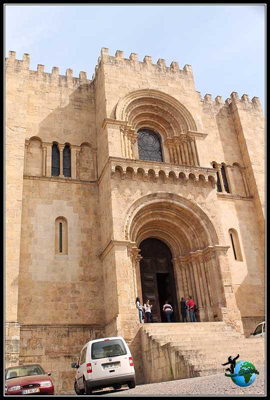 Sé Velha o Catedral Vieja de Coímbra.