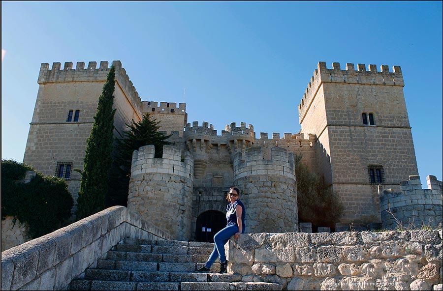 Castillo de Ampudia, Palencia..