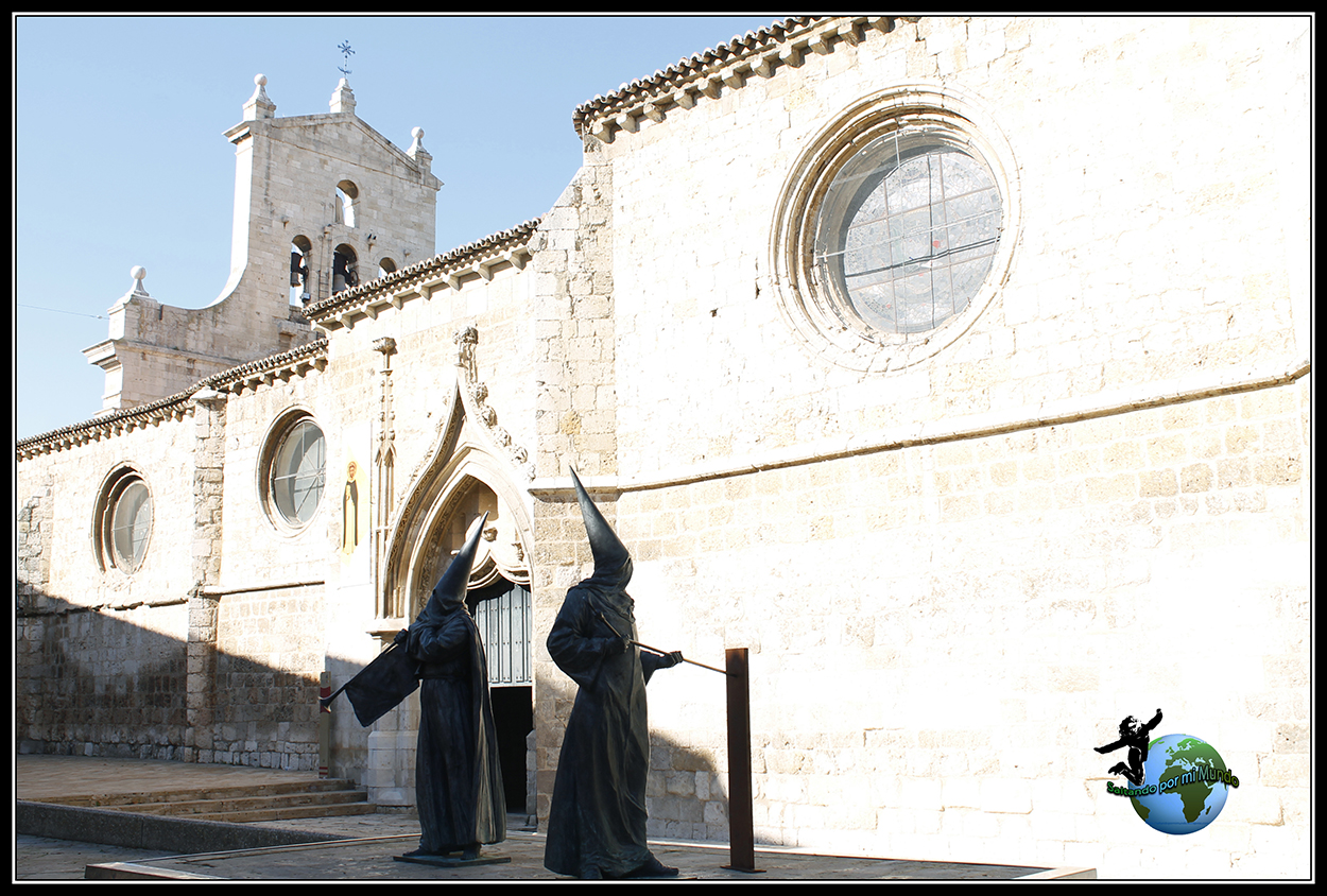 Monumento a los cofrades de Palencia.