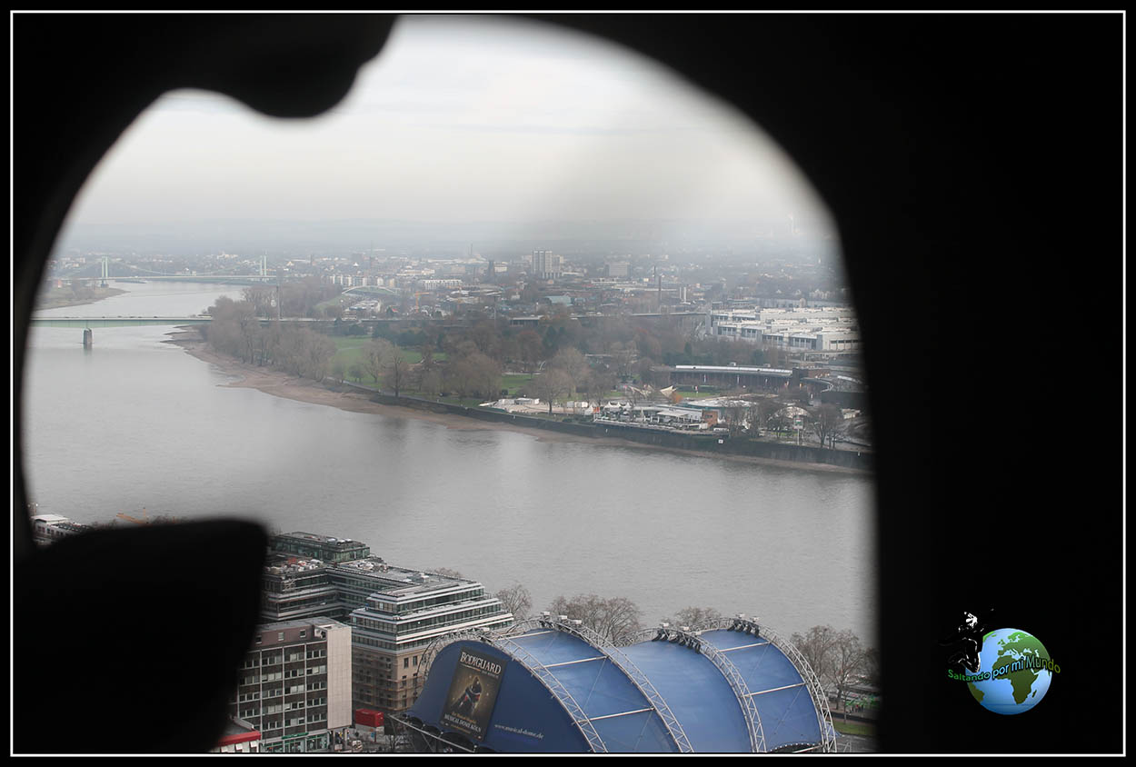 Vistas desde lo alto de la Catedral de Colonia