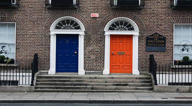 Puertas de Colores en Dublin o por qué Irlanda es diferente
