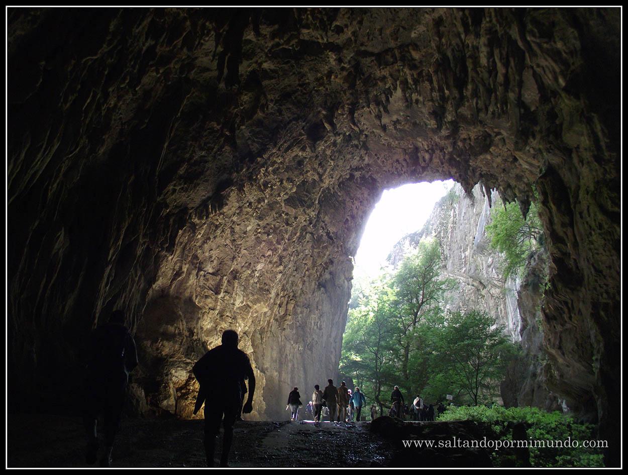 1460 - Interior de las Cuevas de Škocjan dom25-9