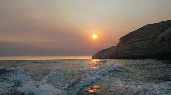 Dia 8 Algarve: Estoi, Olhao, Praia de Benagil, Lagoa.