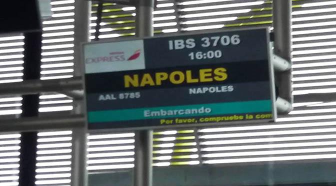 Nápoles, Pompeya y Herculano. Día 1. Llegada a Nápoles.