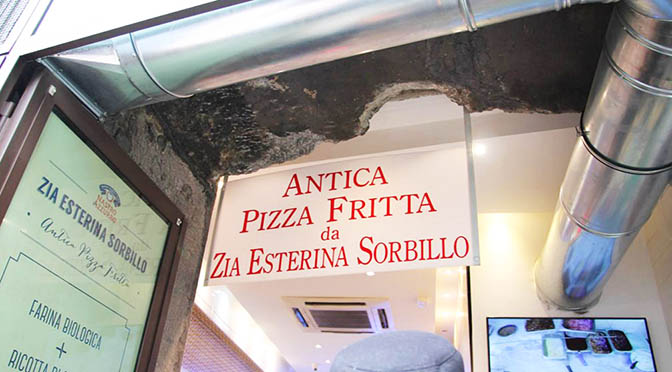 La mejor Pizza frita de Nápoles