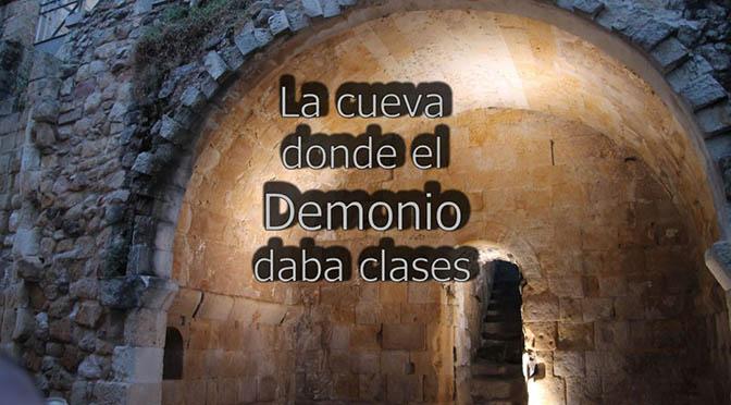La cueva donde el demonio daba clases