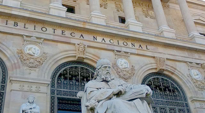 Leonardo da Vinci y la biblioteca Nacional de Madrid.