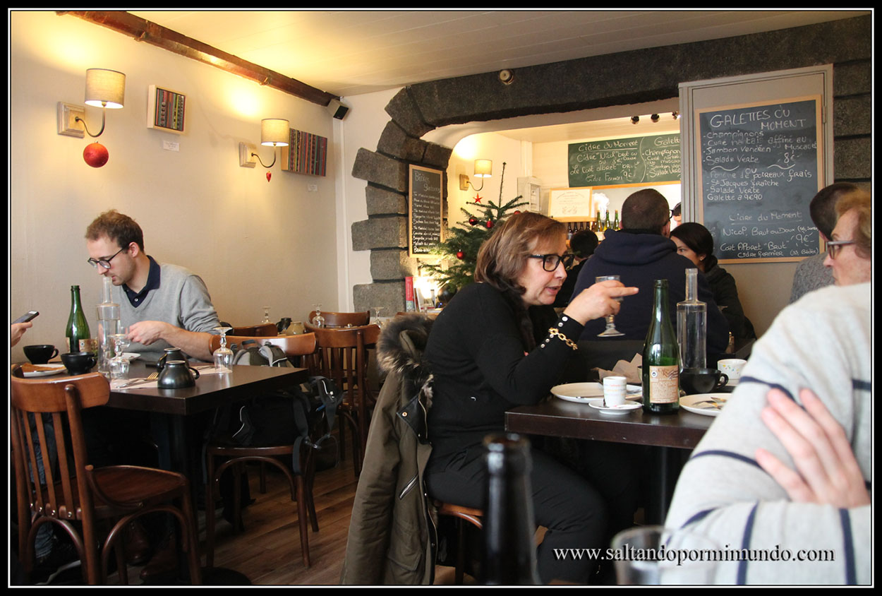 Dónde comer en Nantes, crepería Ker Breizh