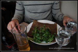 Dónde comer barato en Nantes, Galette salada Ker Breizh