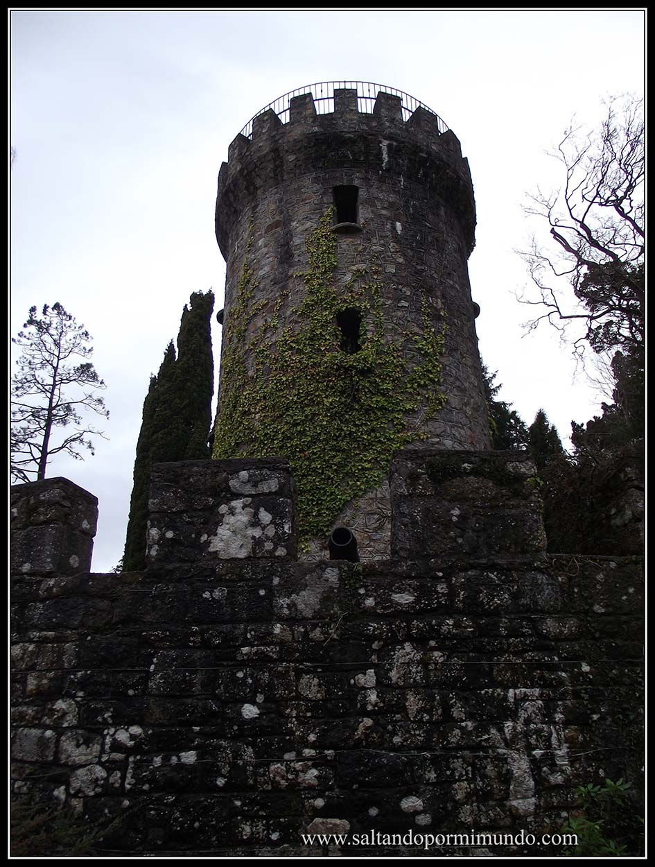 Pepper Pot Tower, en los Jardines de Powerscourt Garden, Condado de Wicklow, Irlanda.