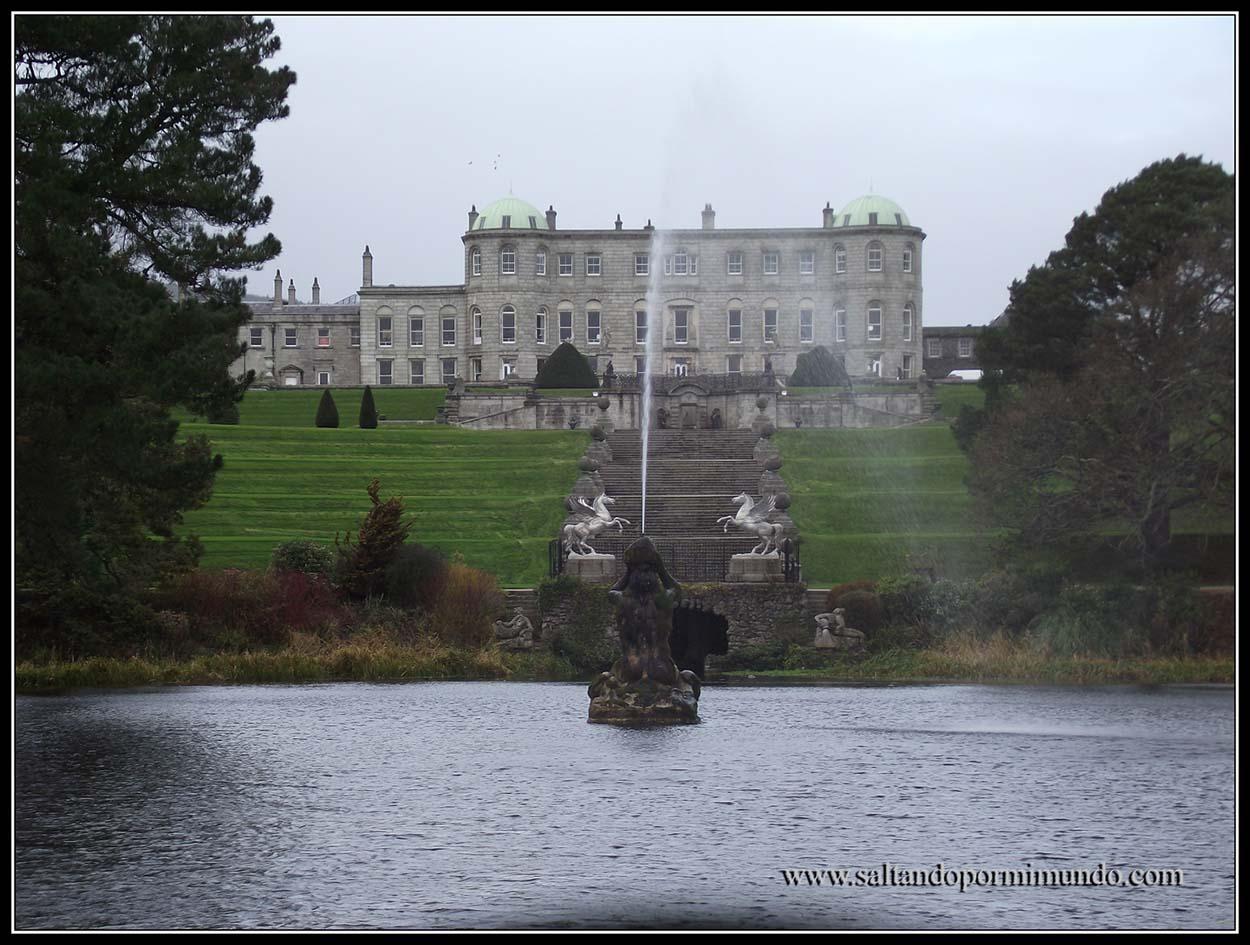 Qué ver en Irlanda. Jardines de Powescourt Gardens.