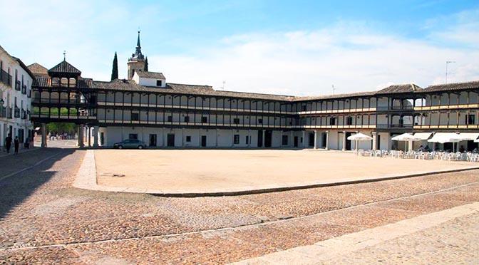 Tembleque, una de las plazas más bonitas de Castilla-La Mancha