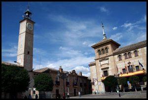 Plaza Mayor de Consuegra, Toledo.