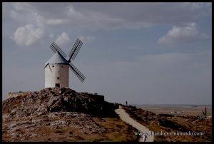 Molino de viento en Consuegra.