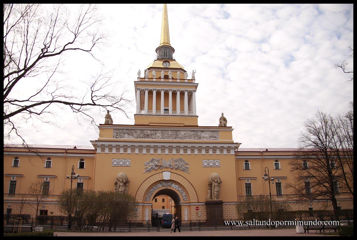Edificio del Azmiraltazgo en San Petersburgo