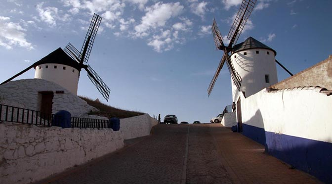 Guía. Ruta de El Quijote. Día 2 – El Toboso, Argamasilla de Alba, Castillo de Peñarroya, Lagunas de Ruidera, Alcázar de San Juan, Campo de Criptana.