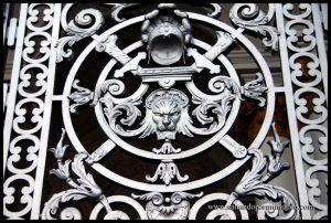 Puerta del Palacio del Hermitage