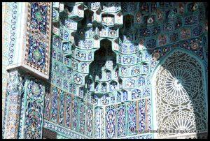 Detalle de la Mezquita de San Petersburgo.