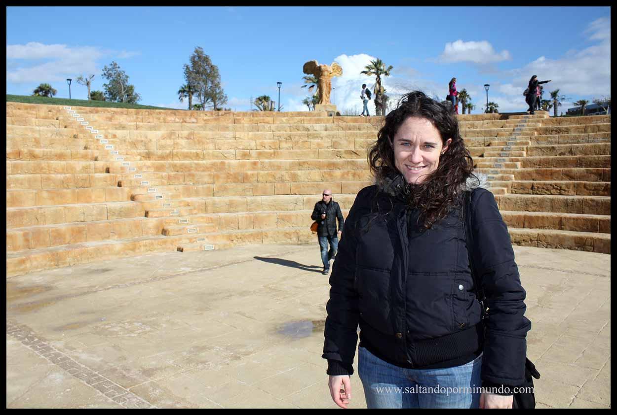 Teatro Griego en el Parque Europa de Torrejón