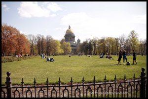 Catedral de San Isaac, San Petersburgo.