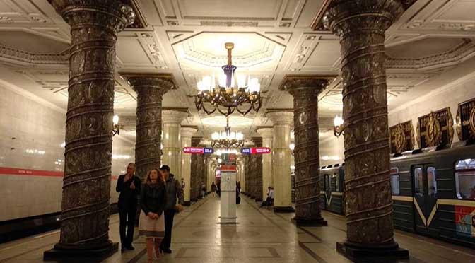 Las estaciones de metro más bonitas de San Petersburgo
