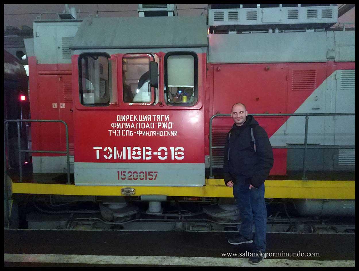 San Petersburgo. Flecha Roja