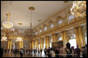 Interior museo del Hermitage.