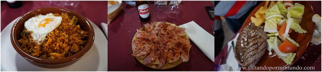 Dónde comer en Guadamur, Toledo