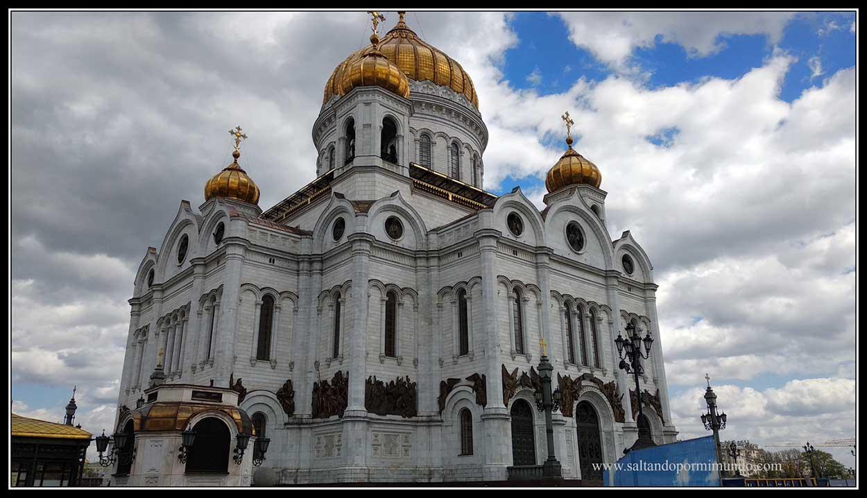 Catedral del Cristo Salvador de Moscú.