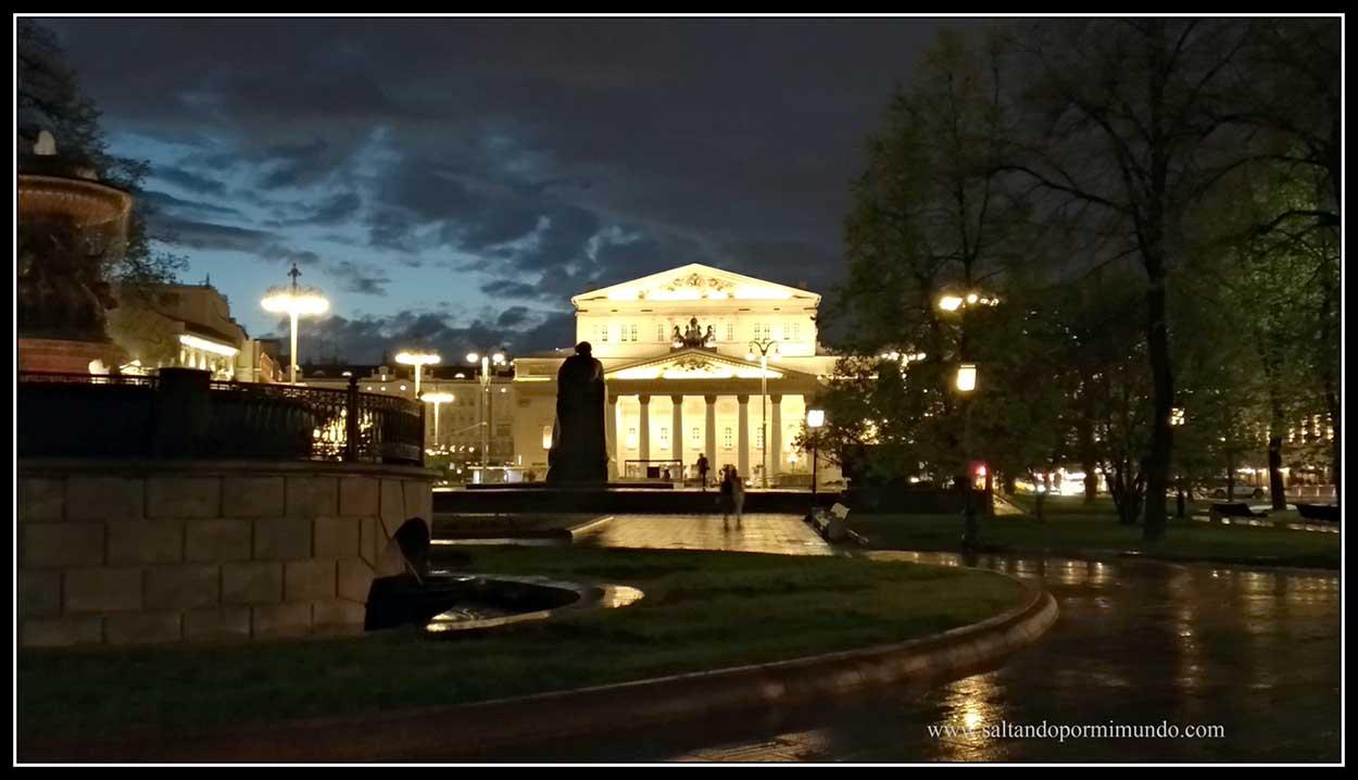 Moscu.Teatro Bolshoi