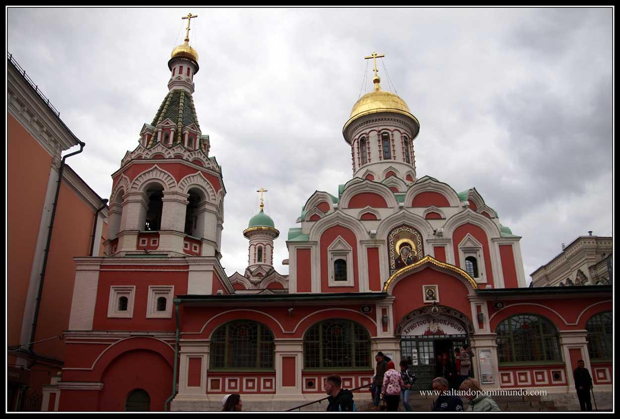 Catedral de Kazán en Moscú.