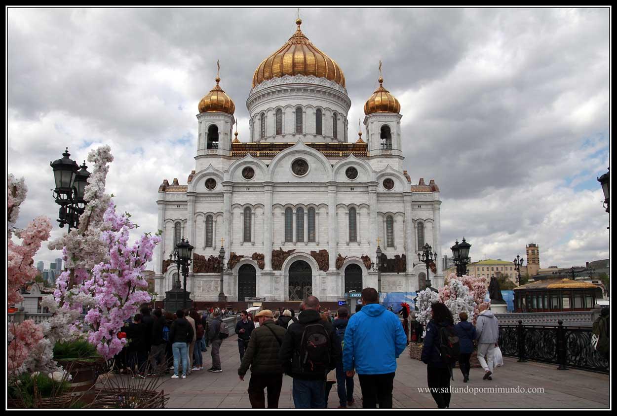 Qué ver en la Catedral del Cristo Salvador de Moscú.
