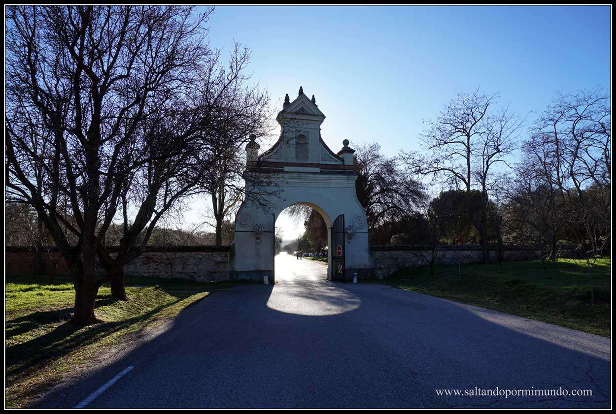 Qué ver en el Pardo. Quinta del duque de Arco y jardines barrocos.