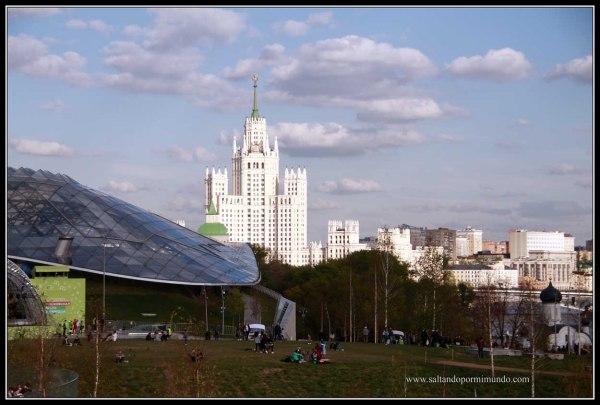 Qué ver en Moscú, Parque Zaryady